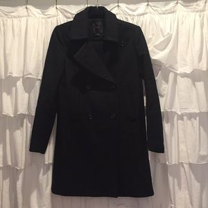 theory wool / cashmere blend coat